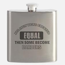 Cool Barbers designs Flask