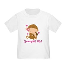Granny Loves Me monkey T
