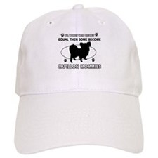 papillon mommy designs Baseball Cap