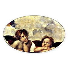 Raphael - Putti (angels) Detail fro Decal