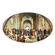 Raphael - School of Athens showing  Decal