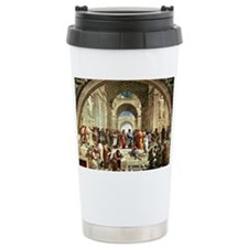 Raphael - School of Athens show Travel Mug