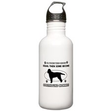 otterhound mommy designs Sports Water Bottle