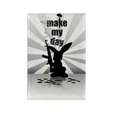 Make My Day Rectangle Magnet