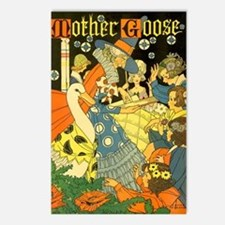 Vintage Mother Goose Postcards (Package of 8)