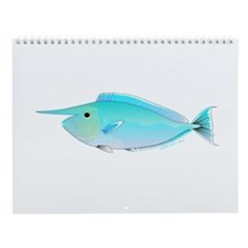 Tropical Ocean fish Wall Calendar