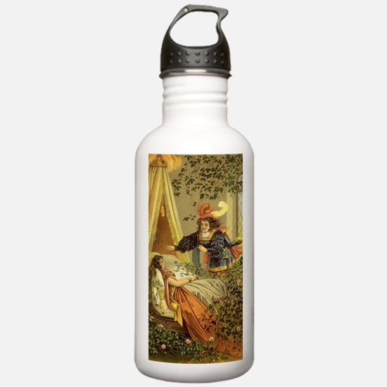 Vintage Sleeping Beaut Water Bottle