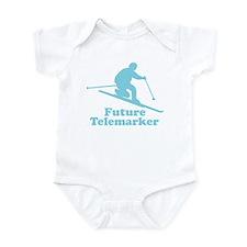 Blue Future Telemarker Infant Bodysuit