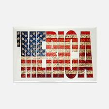 Vintage Grunge MERICA U.S. Flag Magnets