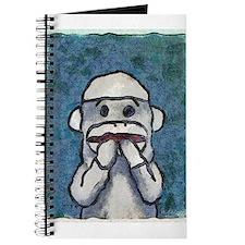 Speak No Evil Sock Monkey Journal