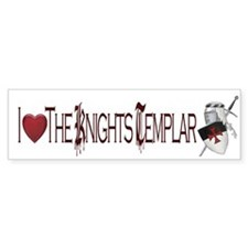 Knights Templar Bumper Bumper Sticker