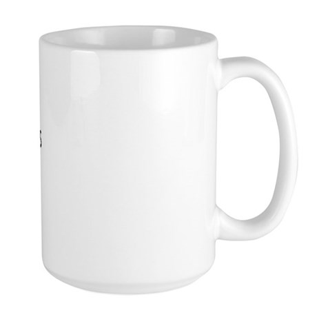 Bald Chicks Rock Large Mug