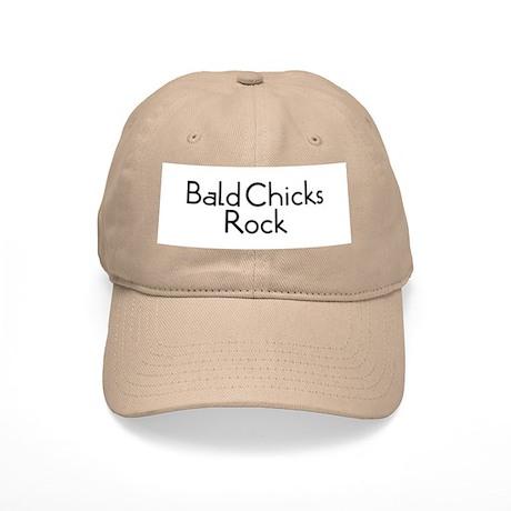 Bald Chicks Rock Cap