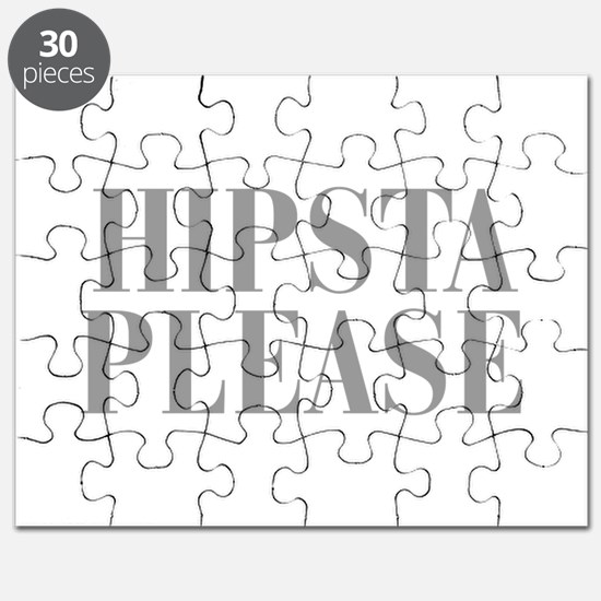 hipsta-please-BOD-GRAY Puzzle