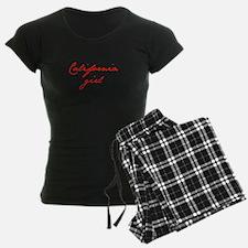 california-girl-jan-red Pajamas