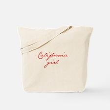 california-girl-jan-red Tote Bag