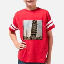 Vintage Leaning Tower Of Pisa Youth Football Shirt