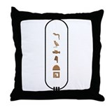 Ancient egypt judith Throw Pillows