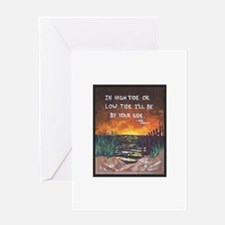 Go with the Tide Greeting Cards