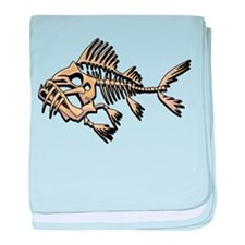 Skello Fish baby blanket