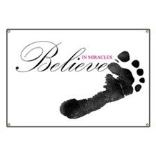 Believe in Miracles Banner