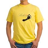 Miracle Mens Yellow T-shirts
