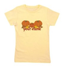 Personalized Halloween Girl's Tee
