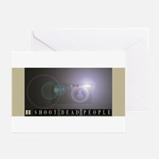 I shoot dead people Greeting Cards (Pk of 10)