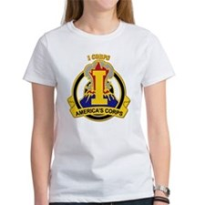 DUI - I Corps with text Tee