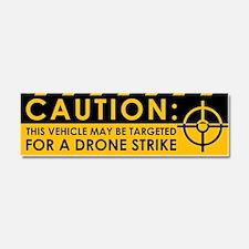 Caution: Vehicle Drone Strike Car Magnet 10 x 3