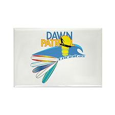 Dawn Patrol Encinitas Rectangle Magnet