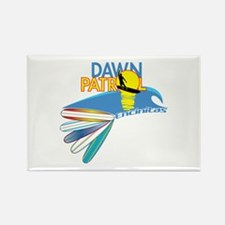 Dawn Patrol Encinitas Rectangle Magnet