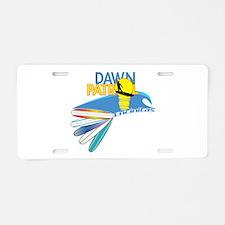 Dawn Patrol Encinitas Aluminum License Plate
