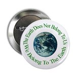 Belong to the Earth Button