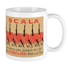 Scala, Dance, Can Can, France, Vintage Poster Mugs