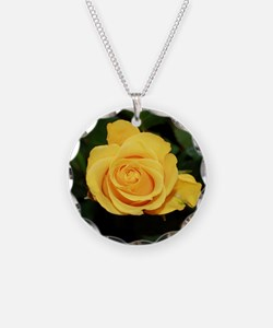 Rose yellow 001 Necklace