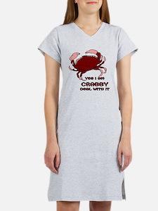 Crabby Women's Nightshirt