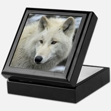 Polarwolf001 Keepsake Box