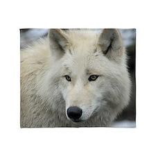 Polarwolf001 Throw Blanket