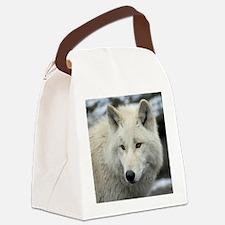 Polarwolf001 Canvas Lunch Bag