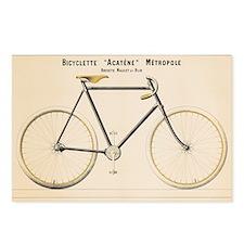 Bicycle, Vintage Poster Postcards (Package of 8)