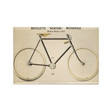 Bicycle, Vintage Poster Magnets