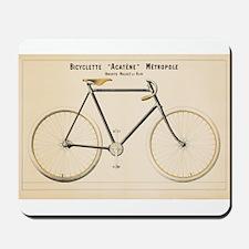 Bicycle, Vintage Poster Mousepad