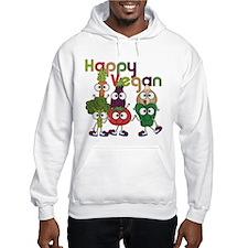 Happy Vegan Jumper Hoody