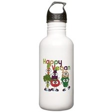 Happy Vegan Water Bottle