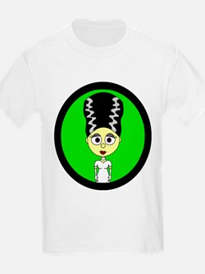 Cute Bride of Frankenstein T-Shirt