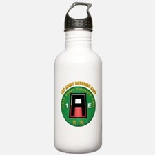 SSI - First Army Division East with Text Water Bottle
