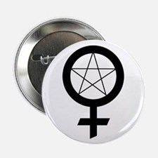 Witchy Woman Button