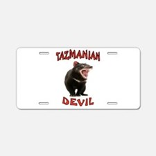 TAZMANIAN DEVIL Aluminum License Plate