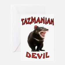 TAZMANIAN DEVIL Greeting Cards